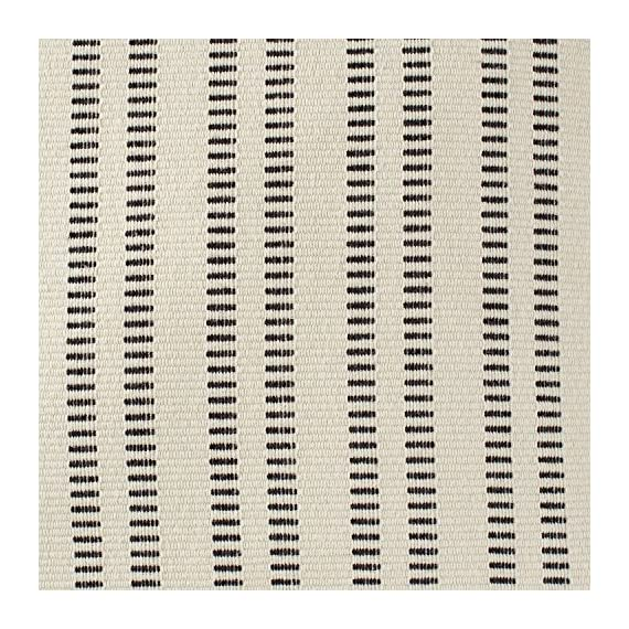 "Stone & Beam French Laundry Pillow, 17"" x 17"", Ivory, Black - This pillow features a timeless style with just the right mix of refined and casual touches. Rust-color stripes on an ivory background are yarn-dyed for lasting color, while the fabric's texture and weight gives it a substantial, durable feel. Traditional French Laundry style is refined yet relaxed Cover is cotton/polyeser/acrylic blend; stripes on front and back - living-room-soft-furnishings, living-room, decorative-pillows - 61BegyneTQL. SS570  -"