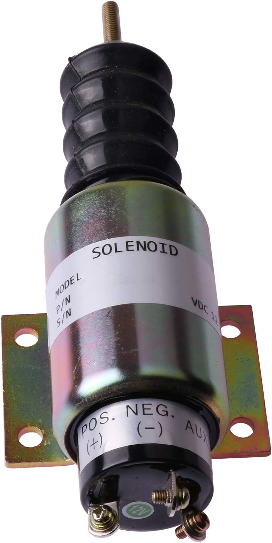 Friday Part Fuel Shutdown Solenoid 2001-12E2U1B2A for Woodward 12V