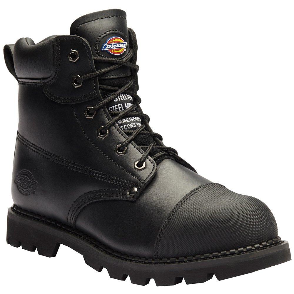 "Dickies, men's Chelsea boots ""Crawford"", 42 2/3 EU, black"