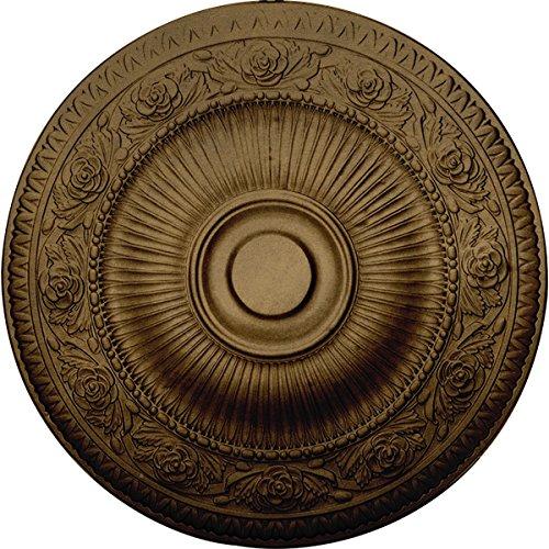 Nouveau Brass Chandelier - Ekena Millwork CM24NABRS 24 1/4