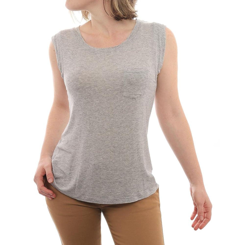 Splendid Drapey Lux Muscle Tee Women Regular Blouse