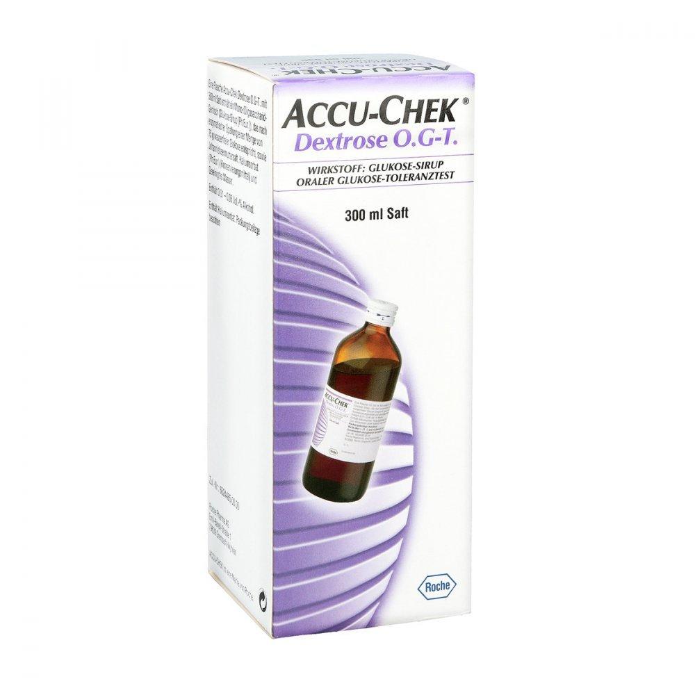 Accu Chek Dextrose O.g.-t. Saft 300 ml Roche Diagnostics Deutschland 7759053