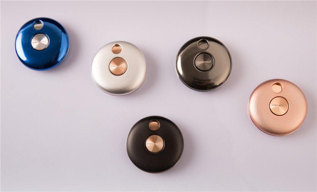 Rechargeable Coil Lighter Electric USB Lighters Round UFO Plate Windproof Pocket Lighter Rose Gold by Primo (Image #2)