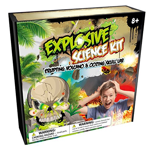 New Mannequin Explosive Science Equipment: Prepared-to-Use Erupting Volcano & Slime Cranium Lab  Evaluations