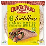 Old El Paso Whole Wheat Tortillas (6 per pack) - Pack of 2