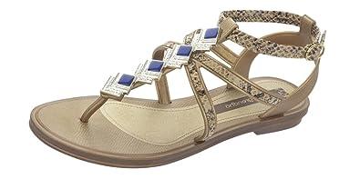 Glamour Sandal Frauen Flip-Flops / Sandalen-Bronze-35/36 Grendha Billig 100% Original LNtBUI8Dj