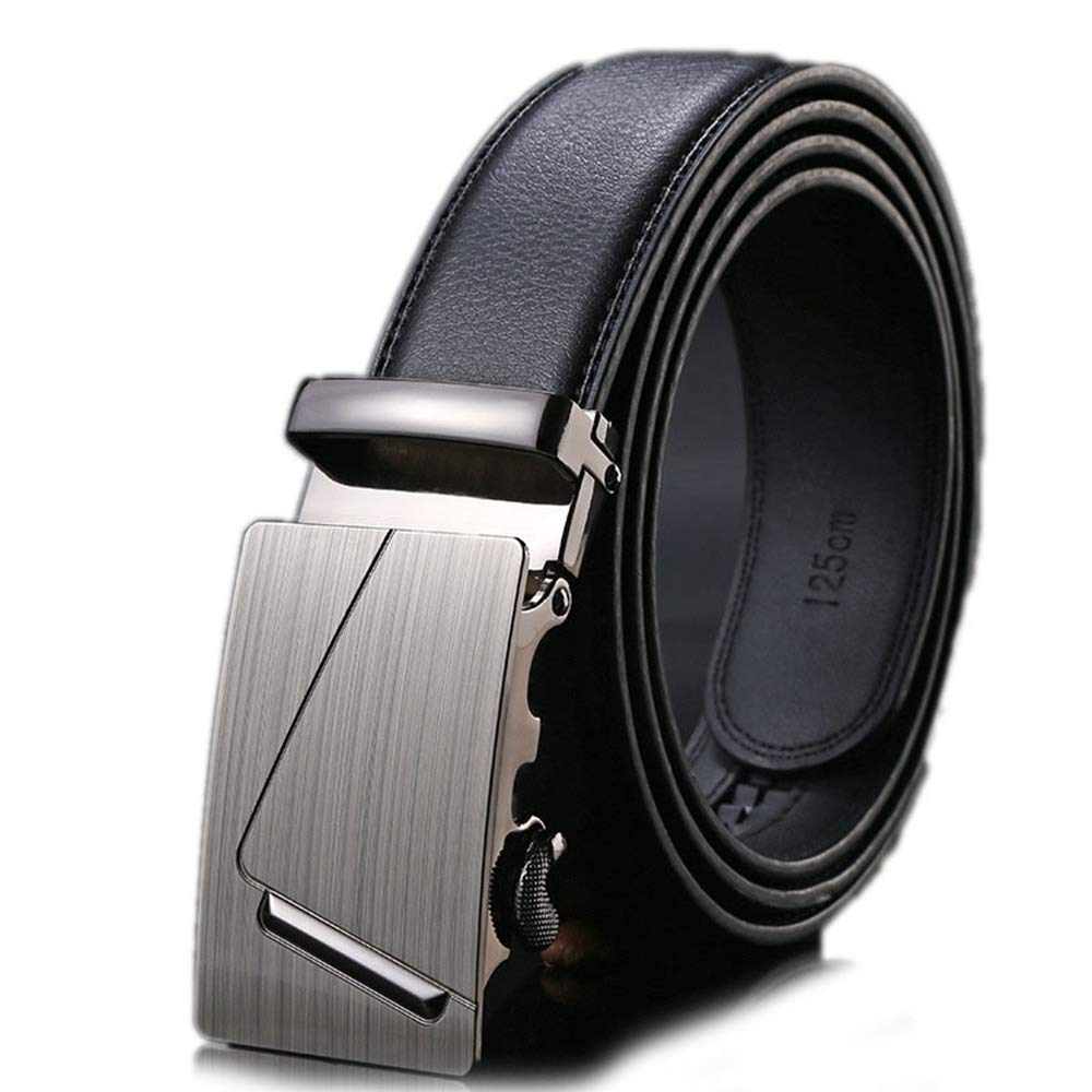 ZFADDS Mens Belts Luxury Real Leather Belts For Men Metal Buckle Man Jeans Pants Leather Belt Male Strap
