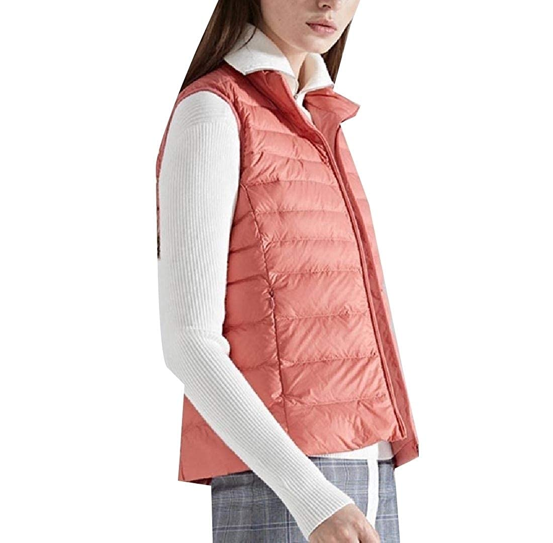 YUNY Womens Keeping Warm Puffer Lightly Packable Leisure Down Vest One 2XL