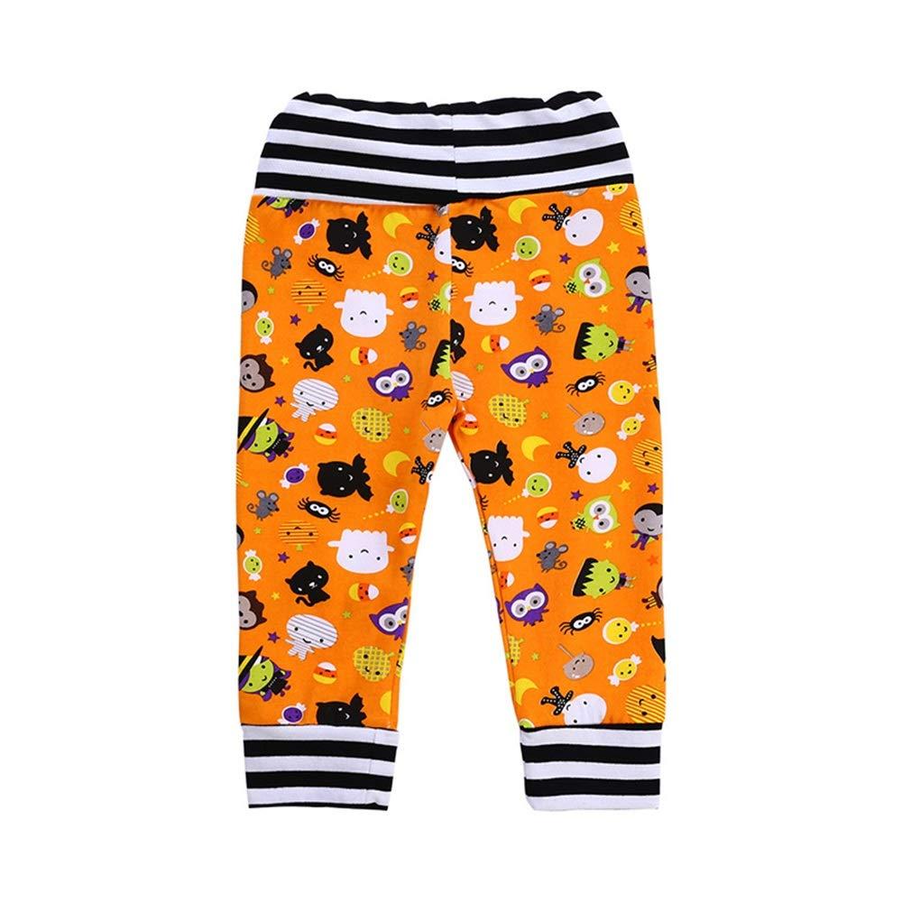 XOXO Precioso Traje de Pijama de Manga Larga Pijama de niña niño 100% algodón Fiesta de Halloween Ropa Infantil (tamaño : 100CM): Amazon.es: Hogar