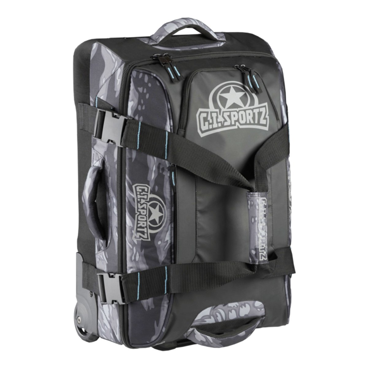 GI Sportz Paintball FLY'R 2.0 Carry On Gear Bag - Tiger Black