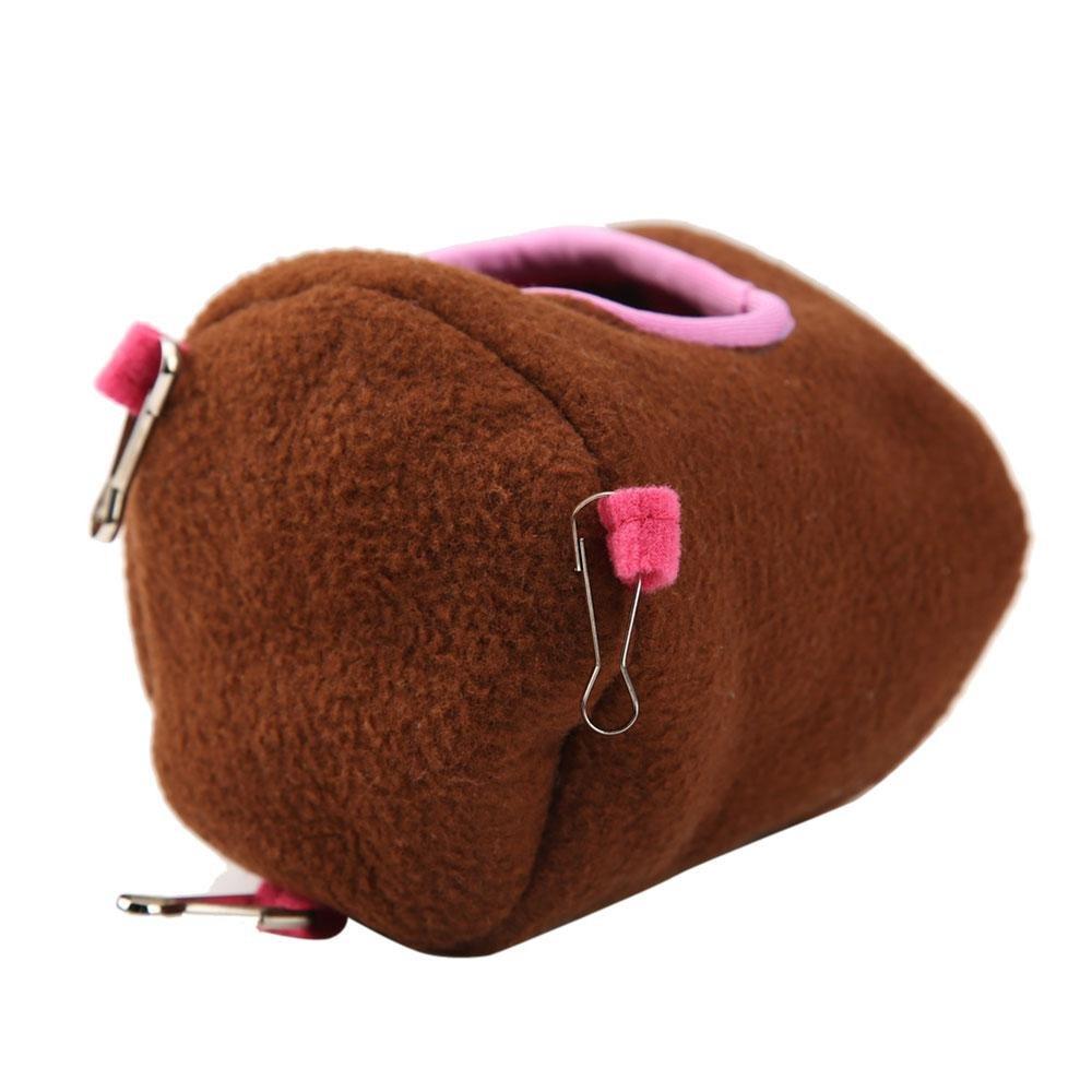 conejos conejillos de indias de color rosado ardillas caseta colgante para mascotas Refugio para h/ámster de Aolvo para h/ámsters erizos y ratas con orificio de goteo amorosa