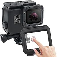 Siyah Renk ile 60Metre su altı su geçirmez çanta GoPro Hero 5Black Tauchgehaeuse ilave Beruehrbaren