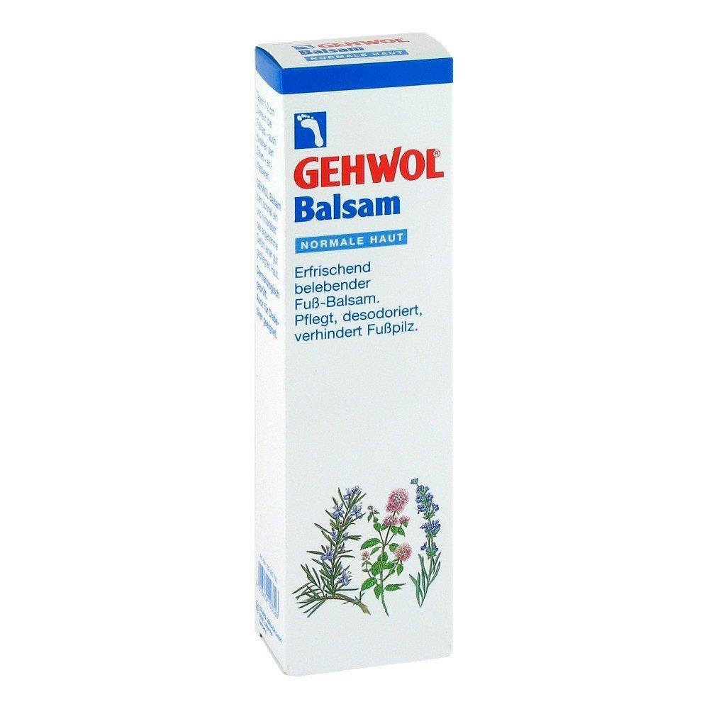 Gehwol balsamo, Pelle Normale, desodorierend, Crema Piedi, con piede fungo protezione, EDUARD GERLACH GMBH 102420700
