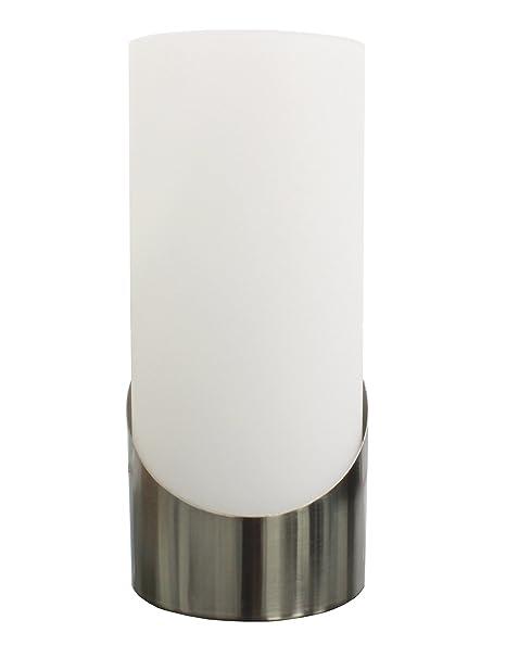 Trango Diseño Cristal Lámpara de mesa, vidrio, Tischleuchte Andrea, E14 5.00W 230.00V