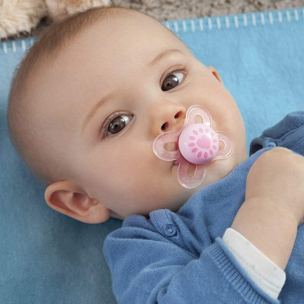 MAM XXL Easy Start Self Sterilising Anti Colic Starter Set Newborn Bottle Set and Soother Newborn Essentials Unisex