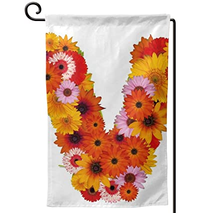 Amazon.com: hwhwiko Garden Flag,Summer Season Colors with ...