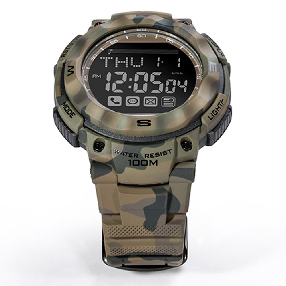 Youngs PS1503 - Smart Watch Deporte Reloj (Impermeable 100M ...