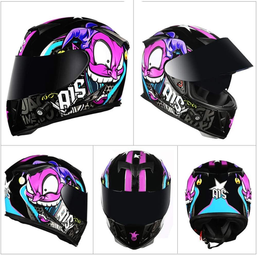 01,XL 60-61cm MOPIK Casque Moto Modulable Double Visi/ère ECE Homologu/é Homme Femme Anti-bu/ée De Montagne Route De Motocross Casque Modulable Moto