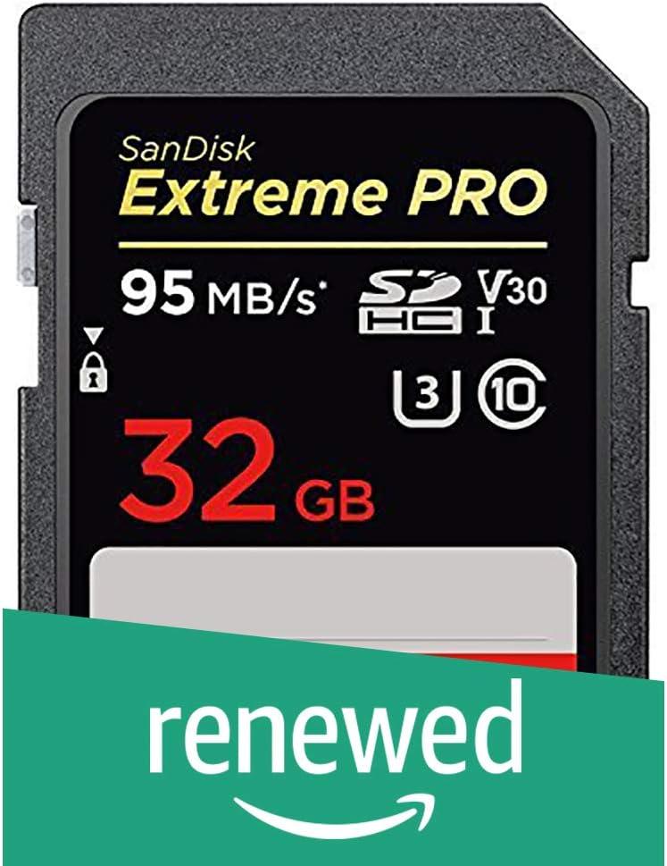 Certified Refurbished SDSDXXG-064G-GN4IN SanDisk Extreme Pro 64GB SDXC UHS-I Memory Card