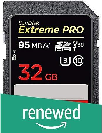 Sandisk Extreme Pro 32 Gb Sdhc Speicherkarte Bis Zu 95 Computer Zubehör