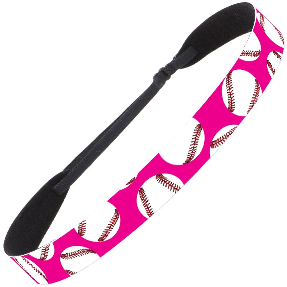 Hipsy Baseball /& Softball Adjustable No Slip Fast Pitch Hair Headbands for Women Girls /& Teens