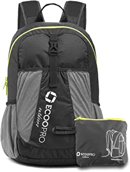 ECOOPRO Lightweight Packable Travel Hiking Daypack