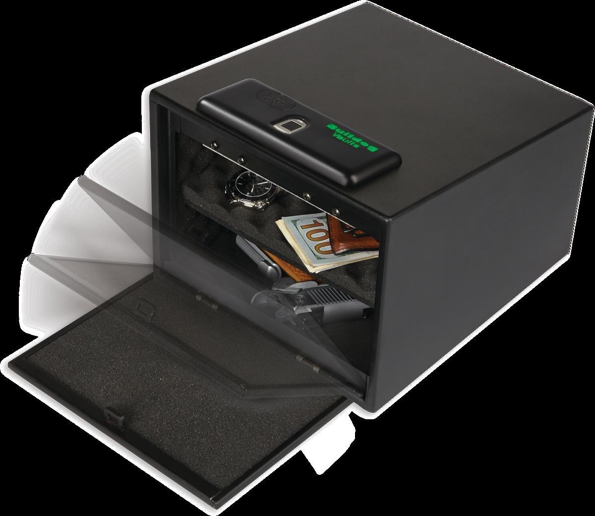 Bulldog Vaults Magnum Biometric Pistol Vault with Shelf Black, 11.5 x 10 x 8'' by Bulldog Vaults (Image #2)
