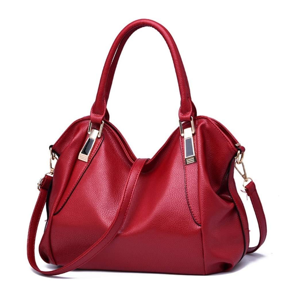 1e452c110c7 Amazon.com: hainan Fashion Designer Women Handbag Female PU Leather Bags  Handbags Ladies Portable Shoulder Bag Office Ladies Hobos Totes Purses  Ivory one ...
