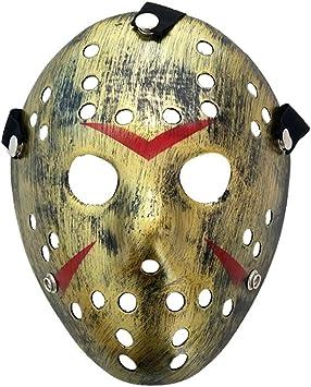 Baipin Máscara de Jason Cosplay Viernes 13 Disfraz Máscara de ...