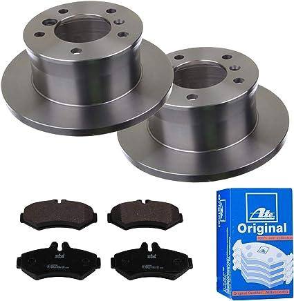 Bremsbel/äge ATE Hinten P-A-02-00287 Bremsanlage 2 Bremsscheiben /Ø272 Voll