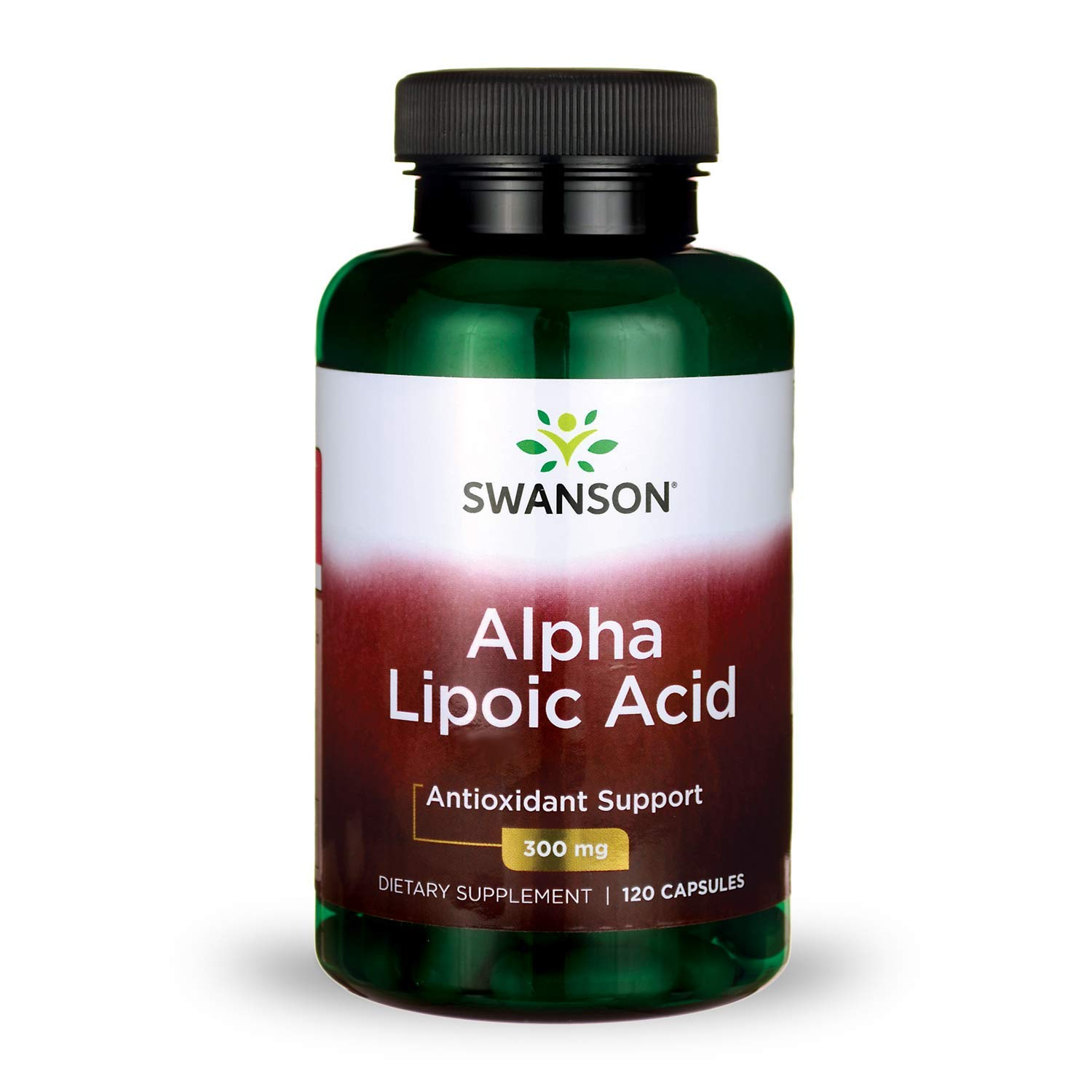 Alpha Lipoic Acid Antioxidant Protection Promotes Healthy Blood Sugar Supplement 300 mg 120 Capsules