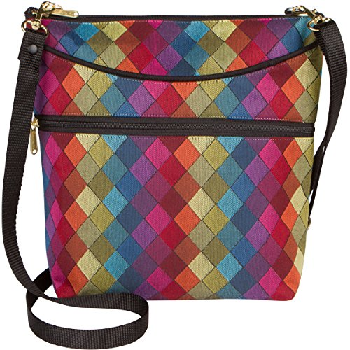 Danny K Women's Tapestry Bag Crossbody Handbag, Maggie Purse Handmade in the USA