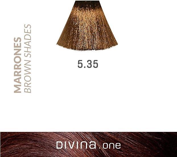 Eva Professional Hair Care Tinte Profesional Divina N.5.35 60 ...