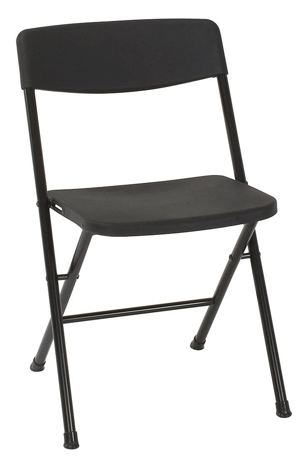 Amazoncom Cosco Resin Pack Folding Chair With Molded Seat And - Collapsible chairs