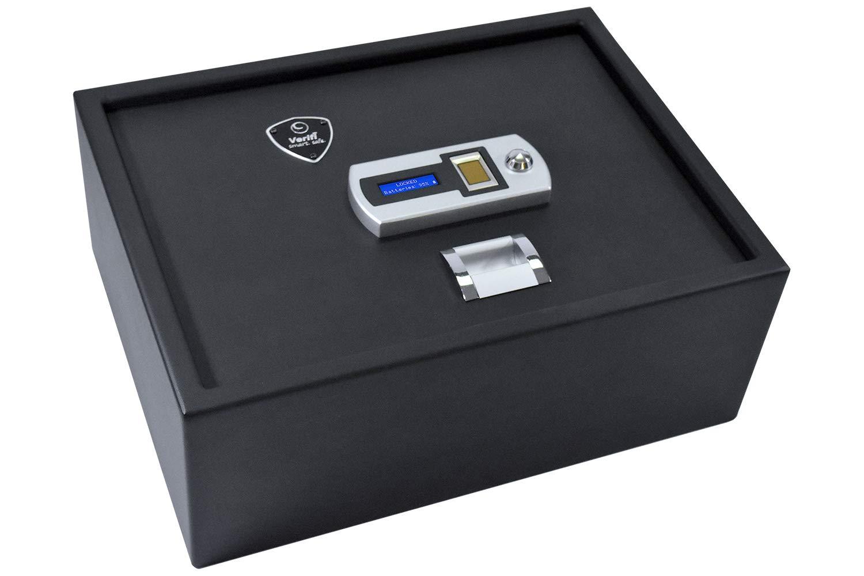 Verifi Smart.Safe. S4000 Biometric Gun Safe with FBI Certified Fingerprint Sensor, Self-Diagnostics, Tamper Alerts and AutoLock by Verifi Smart.Safe.