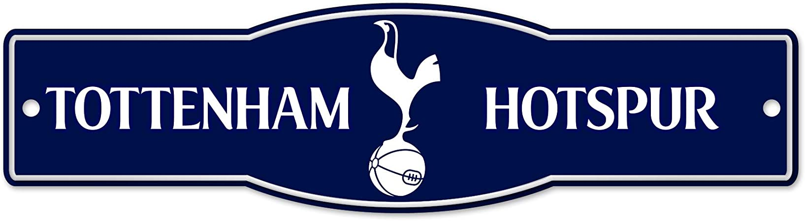 Amazon Com Wincraft Tottenham Hotspur F C 4 X 17 Street Sign Premier League Sports Outdoors