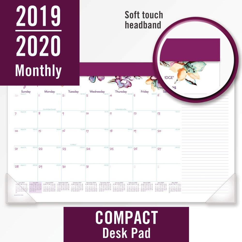 Cambridge 2019-2020 Calendario mensual de escritorio del año ...