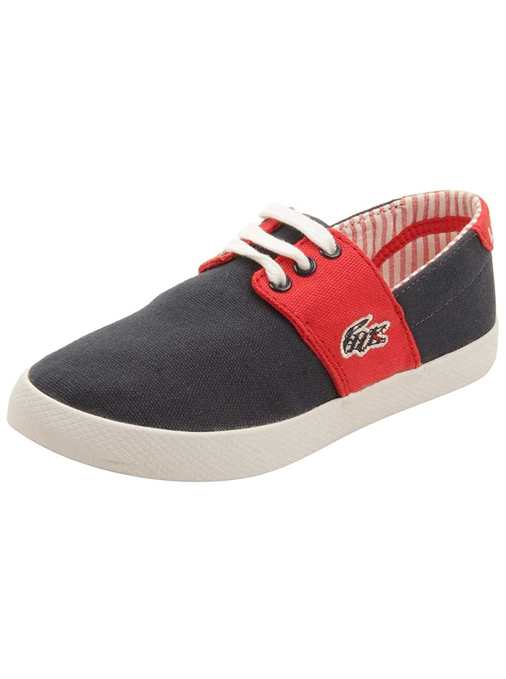 07c545f6772fb Lacoste Toddler Fairchampe Lace Up 117 Sneakers in Navy Red 12 US  Buy  Online at Low Prices in India - Amazon.in