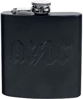 GB Eye Ltd AC//DC Hells Bells Hip Flask Set Black