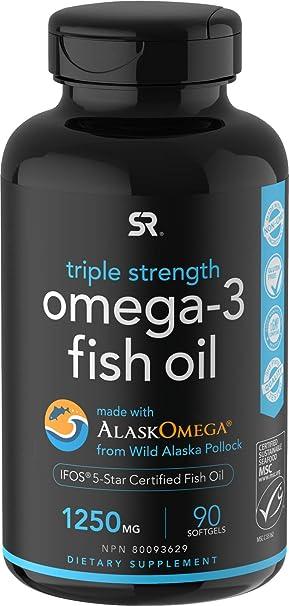 Omega-3 Wild Alaska Fish Oil