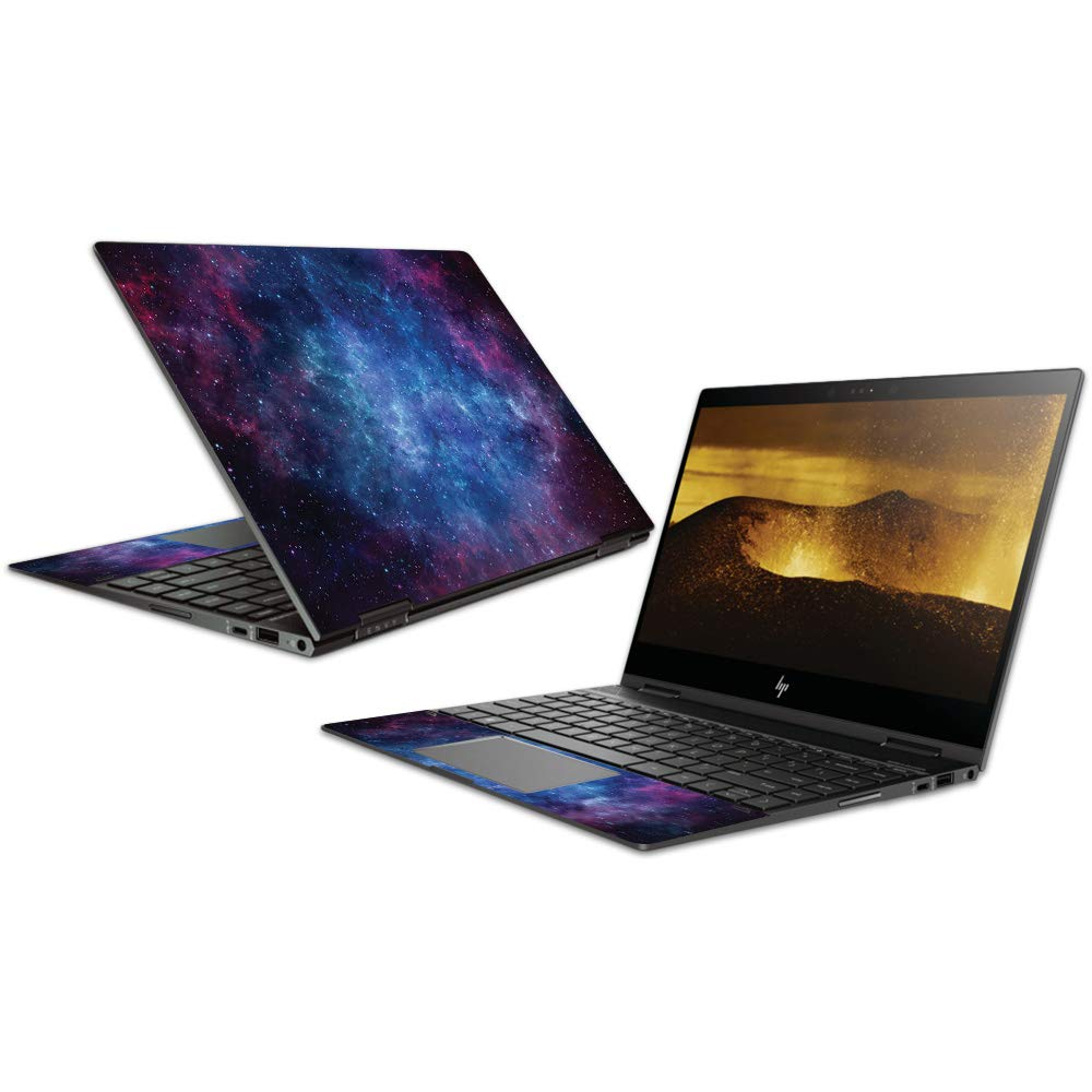 MightySkins Skin Compatible with HP Envy x360 Convertible 13'' (2018) - Nebula | Protective, Durable, and Unique Vinyl Decal wrap Cover | Easy to Apply, Remove, and Change Styles | Made in The USA
