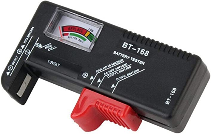 Battery Tester For Aaa C D 9v 1 5v Button Cell Battery Elektronik