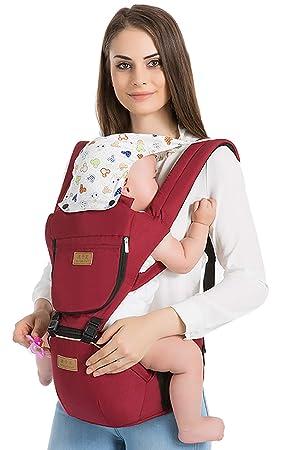 Mochila portabebés para recién nacido, transpirable y ergonómica, para bebé y bebés: Amazon.es: Bebé
