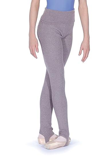 6ebce7c60 Amazon.com  Capezio Girls Foldover Waistband Stirrup Pants - CK1036C ...