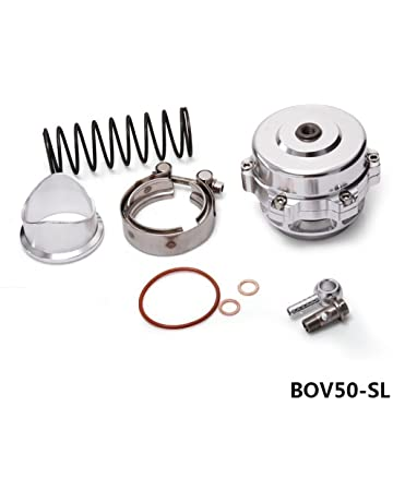 Soosee Universal 50mm V-Band Blow Off Valve Dump Valve BOV with Aluminum Flange(