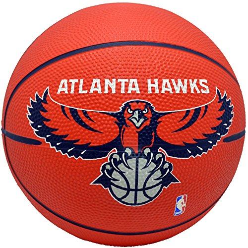 fan products of Spalding NBA Atlanta Hawks Red Mini Basketball