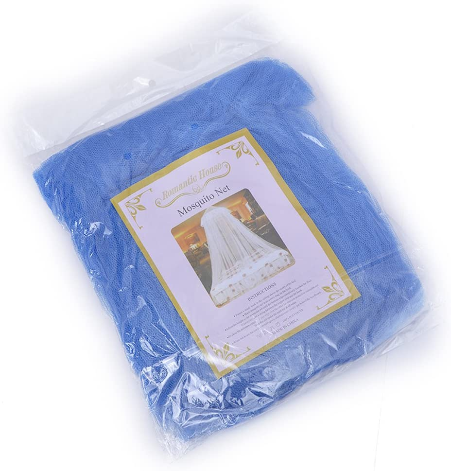 dunkelblau LIOOBO Spitze Bett konische Vorh/änge Kuppel Bett Baldachin Prinzessin Moskitonetz