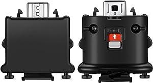 NC Motion Plus Adapter Sensor Accelerator for Nintendo Wii Remote Controller(Black 2 Piece/Set)