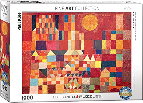 EuroGraphics Paul Klee Castle and Sun Puzzle (1000 Piece)