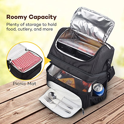 Lunch Box Insulated Lunch Bag For Men Amp Women Fda